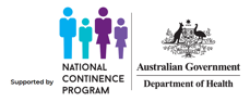 Supported by National Continence Program and the Australian Government Department of Health